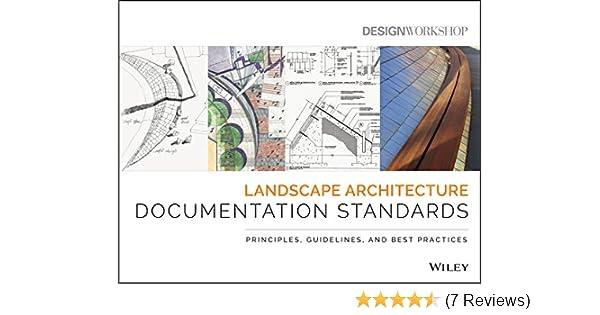 Landscape Architecture Documentation Standards: Principles