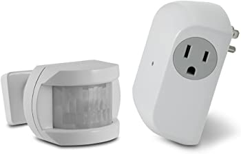 Utilitech Wireless Motion Sensor & Outlet Receiver