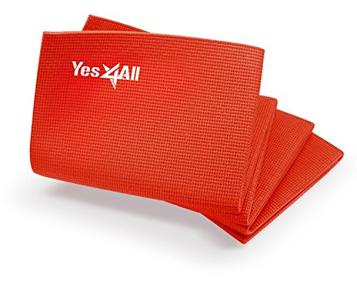 Yes4All Premium PVC Yoga Mat (3mm & 5mm) – Multi Color Available – Durable, Washable & Non slip Surface