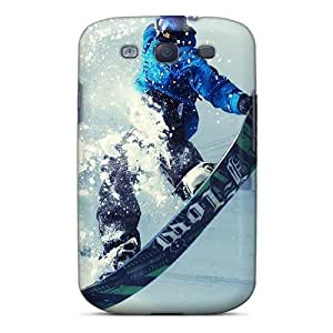 Protective Cell-phone Hard Cover For Samsung Galaxy S3 (wdL9878PTtS) Customized Fashion Snowboard Pattern