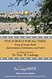 img - for Five Scrolls for All Times: Song of Songs, Ruth, Lamentations, Ecclesiastes, and Esther book / textbook / text book