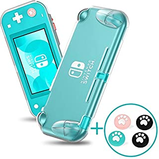 Case for Nintendo Switch Lite, Soft TPU Nintendo Switch Lite Case Cover [Anti-Scratch] [Anti-Slip] Protective Portable Clear Cover with Ergonomic Grip Design for Switch Lite - Transparent