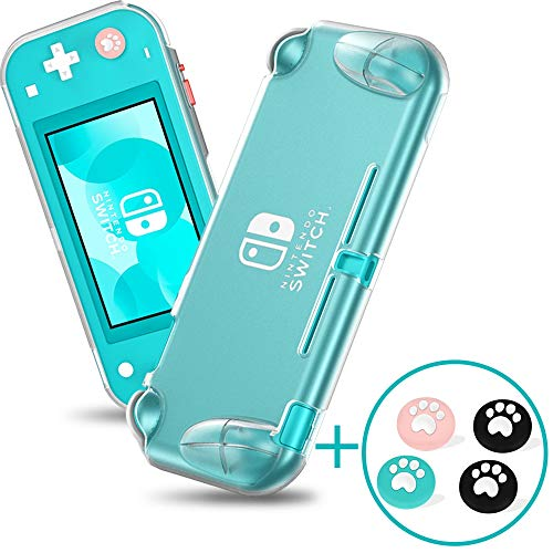 Case for Nintendo Switch Lite, Soft TPU Nintendo Switch Lite Case Cover [Anti-Scratch] [Anti-Slip] Protective Portable Clear Cover with Ergonomic Grip Design for Switch Lite – Transparent