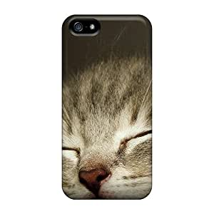 Perfect Fit GSXZTxI4048dKOOX A Sleeply Kitten Case For Iphone - 5/5s