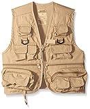 Master Sportsman Kids 26 Pocket Fishing Vest, Large, Khaki