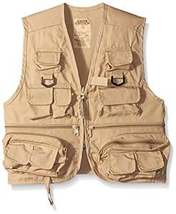 Master sportsman kids 26 pocket fishing vest for Fishing vest amazon