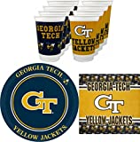 Westrick Georgia Tech Yellow Jackets Party Supplies - 48 pieces