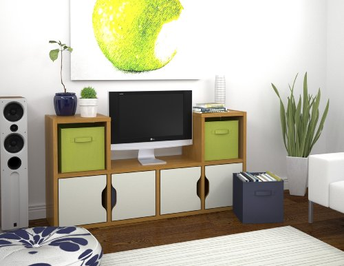 Bestar Generation TV Stand, Cappuccino Cherry