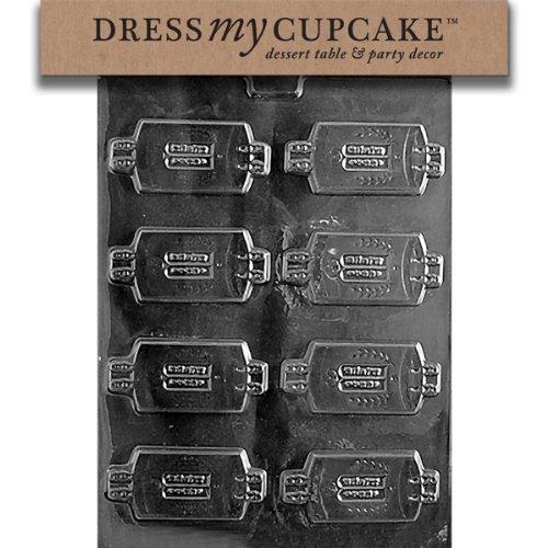 Dress My Cupcake DMCR049SET Chocolate Candy Mold, Torah Scroll and Mantle, Set of 6