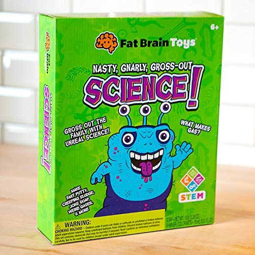 Fat Brain Toys Disgusting Science Kit Science & Nature for