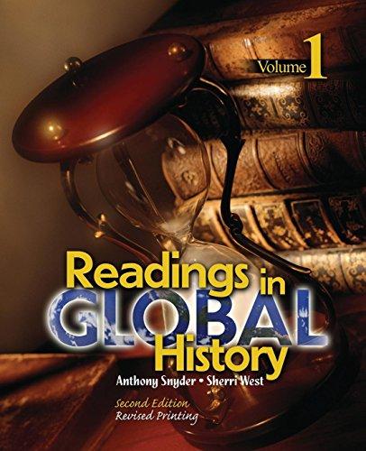 Readings in Global History: Volume 1