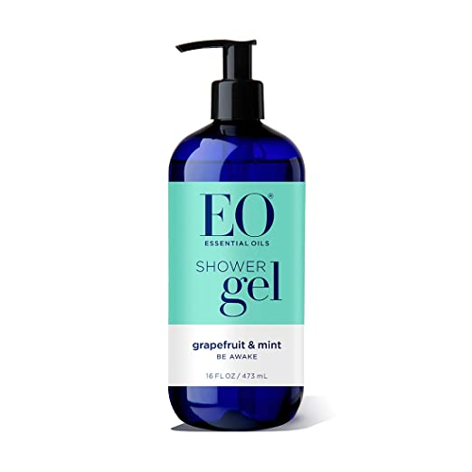 EO Shower Gel, Grapefruit and Mint, 16 Ounce Bottles (Pack of 2)