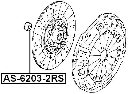 amazon lfh115940a ball bearing 17x40x12 for mazda febest Nissan Mx5 amazon lfh115940a ball bearing 17x40x12 for mazda febest automotive