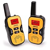 Walkie Talkies, 22 Channel FRS/GMRS Kids Walkie Talkies 2 Way Radio 3.7 Miles UHF Handheld Walkie Talkies for Kids (1 Pair) Yellow