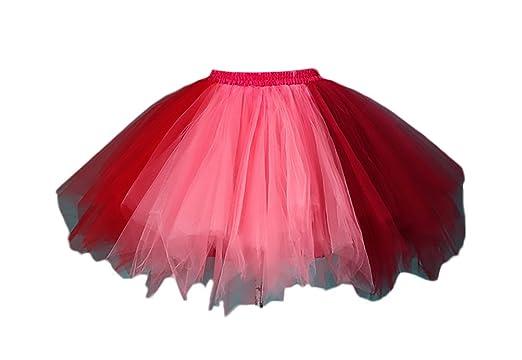 c5fe7aaf8 Faldas Mujer Falda Tul Tutu Mini Falda Ballet Princesas Ropa Dama ...