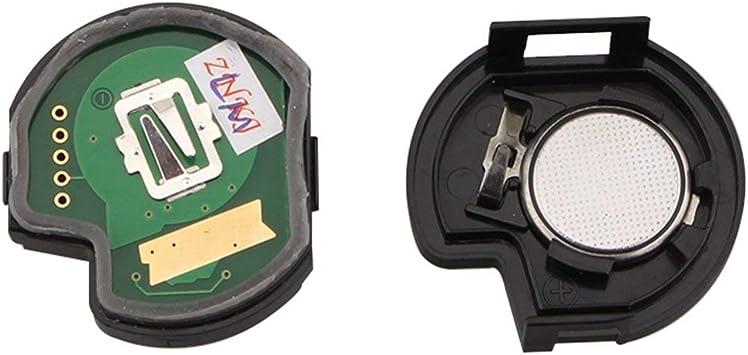 Cl/é /à t/él/écommande pour voiture SUZUKI SWIFT SX4 puce ALTO VITARA IGNIS JIMNY Splash 433 MHz ID46 couleur: noir