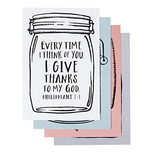 Thinking of You - Inspirational Boxed Cards - Mason Jar (Jar Spring)