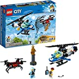 LEGO City Sky Police Drone Chase 60207 Building Kit (192 Pieces)