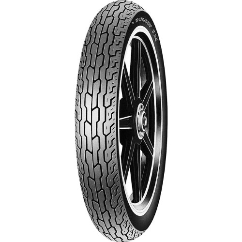Dunlop F24 Front Motorcycle Tire 100/90-19 Tube Type (57S) - Fits: Kawasaki EN450 LTD 1990