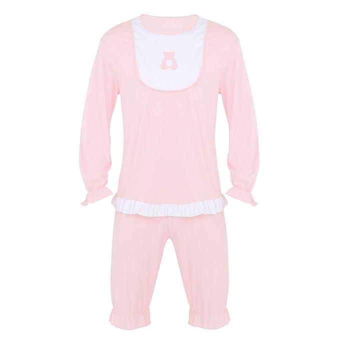 YOOJIA - Conjunto de Pijama para Hombre y Adulto, 100% algodón ...