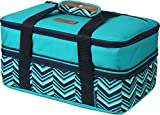 Arctic Zone 2007IL008987 Expandable Thermal Insulated Food Carrier, Teal