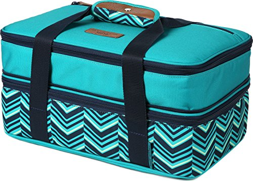 (Arctic Zone 2007IL008987 Expandable Thermal Insulated Food Carrier, Teal)
