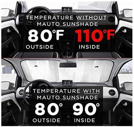 Olive Croft Shrimp Car Windshield Sun Shade Car Sunshade UV Sun and Heat Reflector 130 X 70 cm