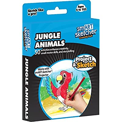 smART sketcher - SD Pack - Jungle Animals: Toys & Games