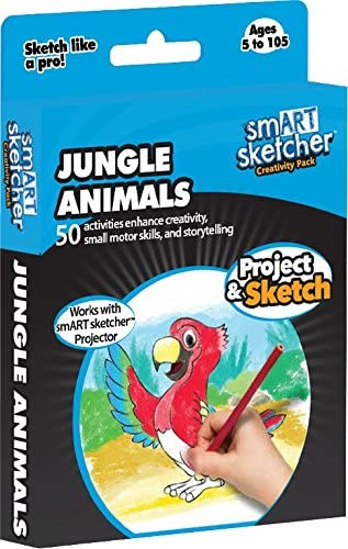 Jungle Animals smART sketcher SD Pack