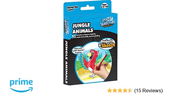 smART sketcher - SD Pack - Jungle Animals