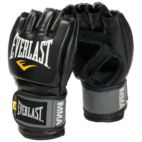 - Everlast MMA Pro Grappling Gloves (Black, Small/Medium)