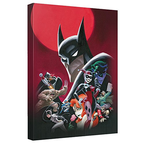 Batman Animated Poster Officially Licensed Canvas Wall Art