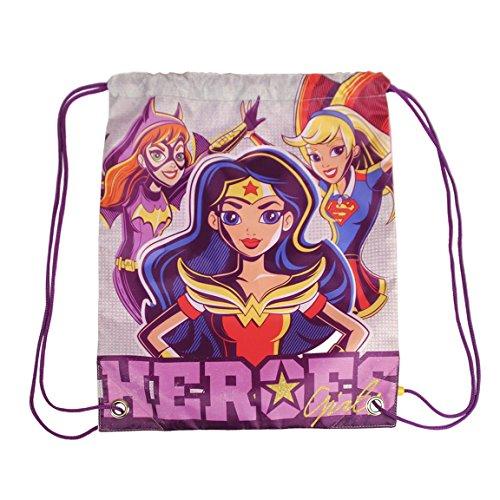 DC Super Heroes Girls Gym Bag Characters Cerda Comics Borse