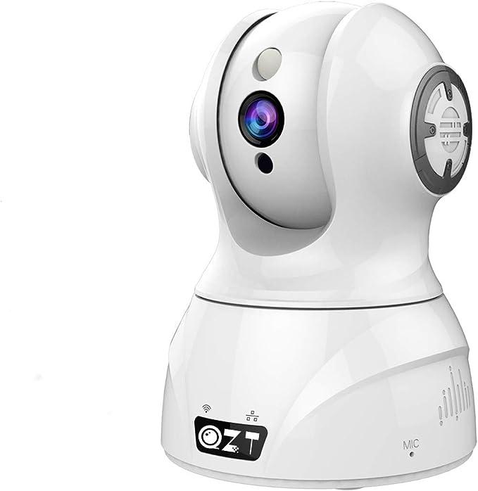 14 opinioni per QZT FHD 1080P Telecamera wi-fi Interno senza fili, Videocamera Sorveglianza WiFi