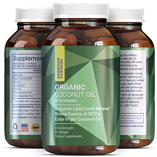 Coconut-Oil-Softgels-2000-mg-Weight-Loss-Pills-For-Men-And-Women-Organic-Supplement-Enhance-Immune-System-Potent-Antioxidant-Burn-Belly-Fat-Pure-Extra-Virgin-Coconut-Oil-Brandon-Sciences