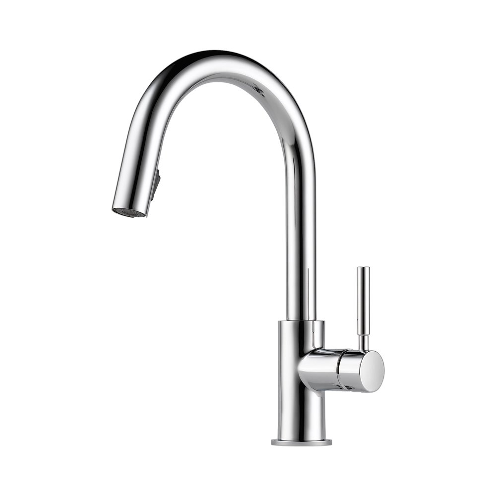 Articulating Kitchen Faucet Brizo 63020lf Ss Solna Kitchen Faucet With Pullout Spray