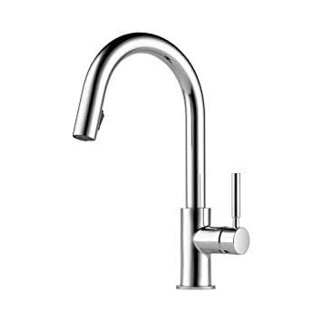 Brizo 63020lf Pc Solna Kitchen Faucet With Pullout Spray Chrome