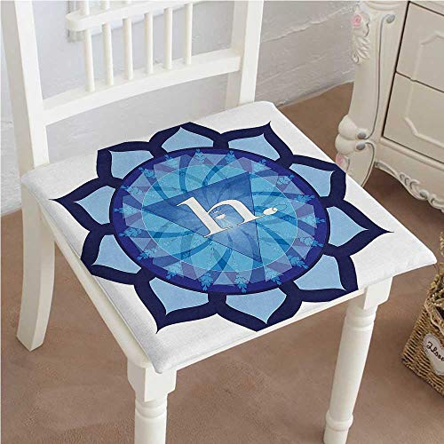 Mikihome Premium Comfort Seat Cushion Flower Shaped Indian Icon Vital Energy and Life Force Symbol Eastern Religion Art Cushion for Office Chair Car Seat Cushion -
