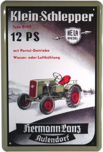 Unbekannt Cartel de Chapa 20 x 30 cm Hermann Lanz Hela ...