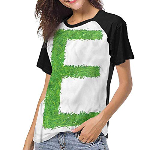 Mens Short Sleeve T-Shirt,Letter E,Woodland Uppercase E S-XXL Printed Tee Female Baseball Shirt -