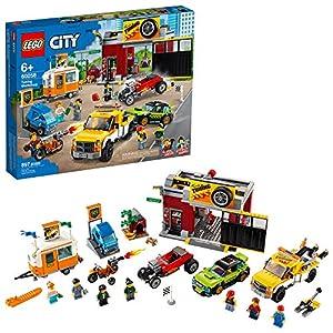 LEGO City Toy Car Garage 60258, Cool Building Set for Kids (897 Pieces)