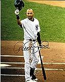 Derek Jeter New York Yankees Autographed Signed 8 x 10 Photo -- COA - (Mint Condition)