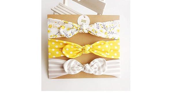 Paquete de 3 diademas y lazos para el pelo, accesorios para el ...