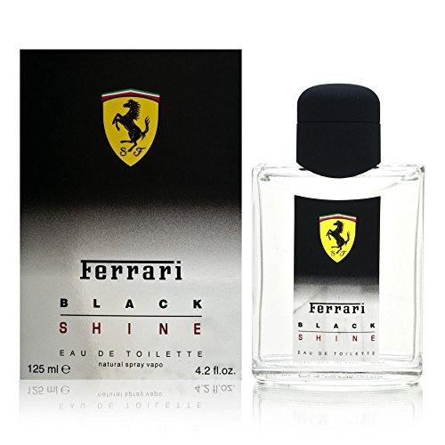 Ferrari Black Shine Men Eau De Toilette Spray by Ferrari, 4.2 - Ferrari Italy Shop