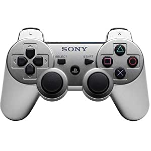 PlayStation 3 Dualshock 3 Wireless Controller (Satin Silver)