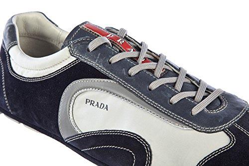 Prada Scarpe Sneakers Uomo camoscio Nuove Montecarlo Active