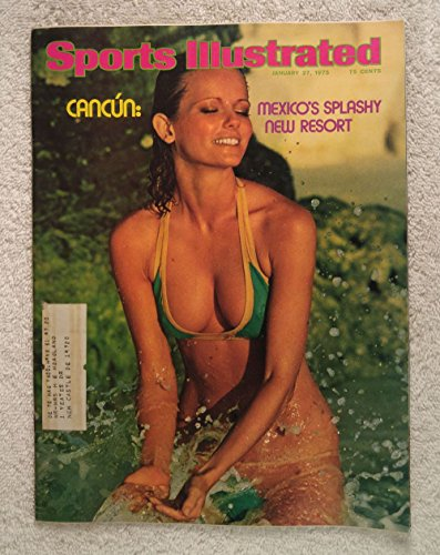 (Cheryl Tiegs - Swimsuit Issue - Cancun: Mexico's Splashy New Resort - Sports Illustrated - January 27, 1975 - SI)