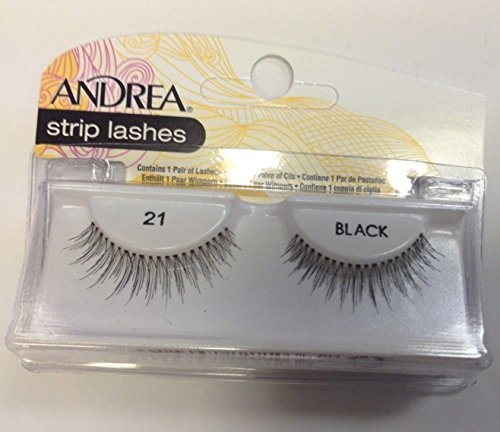 Andrea Modlash Strip Lash - 21 Black (Quantity of 5)