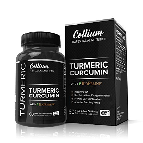FLASH SALE  Turmeric Curcumin Capsules – RELIEVES Joint Pain and REDUCES Inflammation – All Natural AntiInflammatory Supplement with BioPerine for Increased Absorption | 95% Curcuminoids