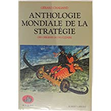 Anthologie mondiale.. strategie